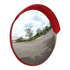PremiumSun™ 60cm Shatterproof Round Convex Mirror (Outdoor Use)