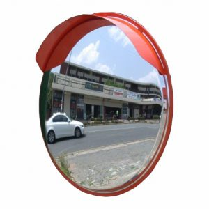 PremiumSun™ 80cm Shatterproof Round Convex Mirror (Outdoor Use)