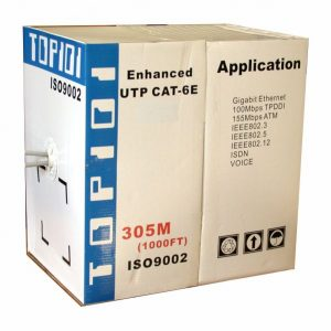 TOP101 Cat5e STP Solid Network Cable 305M Roll