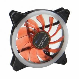 Premiunsun double aura 12cm LED case fan (Red)